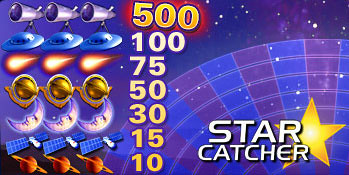 free Star Catcher slot game symbols