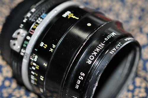 Micro Nikkor 55mm F3.5