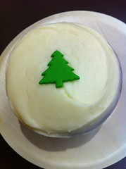 Egg nog spice cupcake at Sprinkles New York by Rachel from Cupcakes Take the Cake