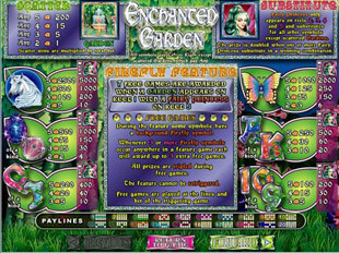 Free Online Slots Enchanted Garden
