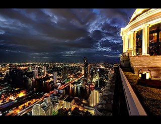 Sky High over Bangkok, City of Light !!!