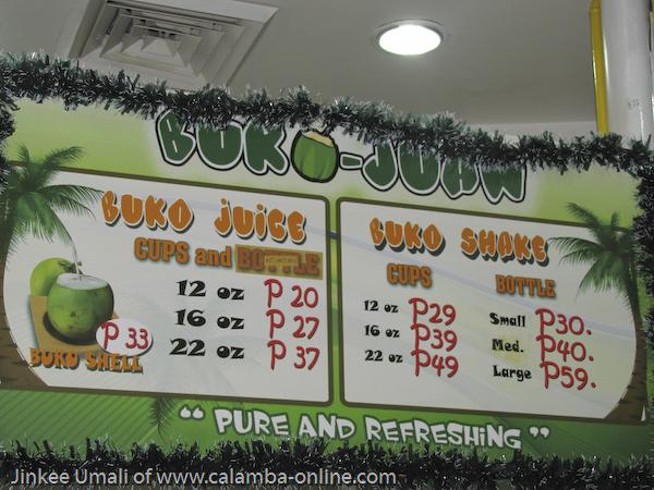 Buko Taste at Buko Juan Calamba