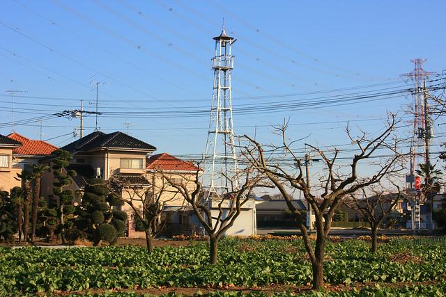 上尾上の火の見櫓(上尾市)