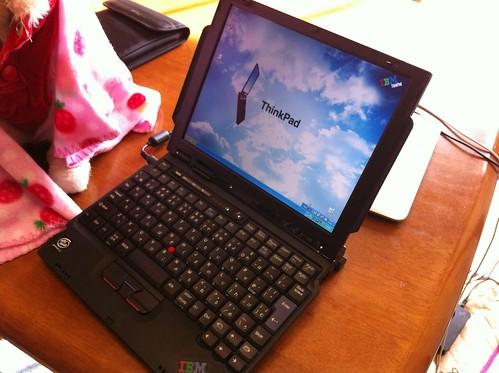 新たな愛機 ThinkPad s30