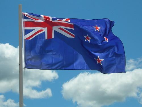 Lake Rotorura NZ flag!