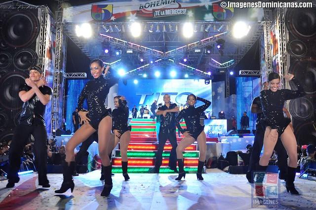 Fiesta Telemicro Año Nuevo en el Malecón