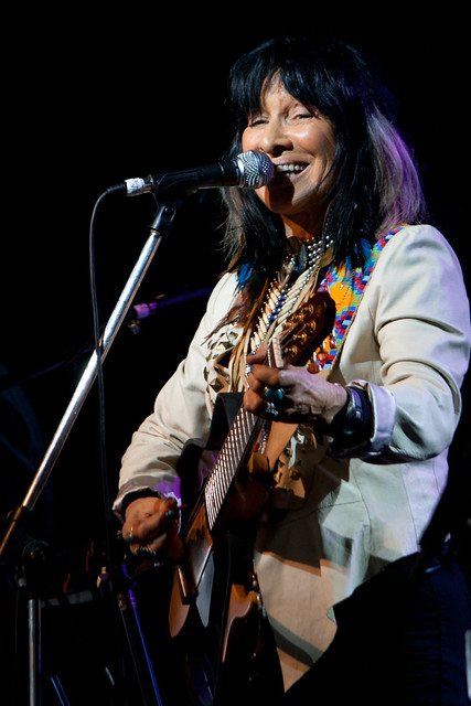 Buffy Sainte-Marie, Woodford Folk Festival 2011/12