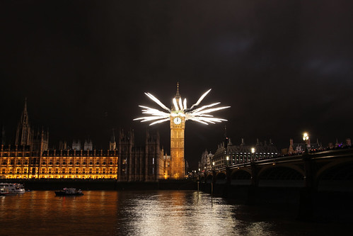 Mayor of London's New Year's Eve Fireworks 2011/2012