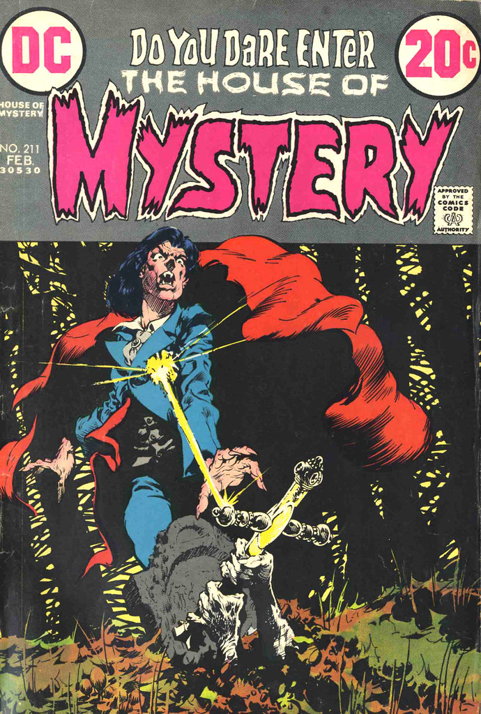 House of Mystery 211 cover by Bernie Wrightson