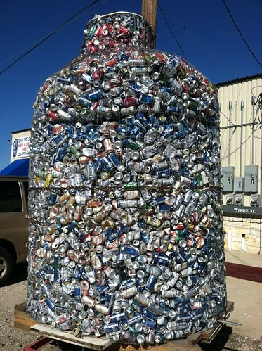 Recycle your beer and soda cans!