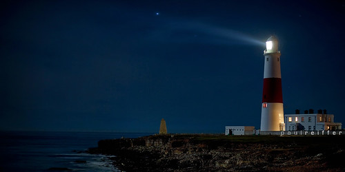 Portland Bill at Midnight