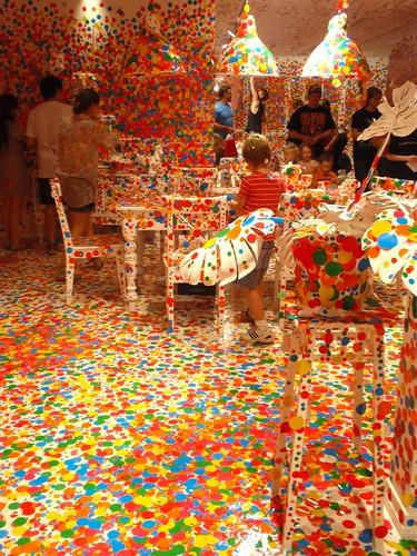 Yayoi Kusama 'Obliteration Room' GoMA