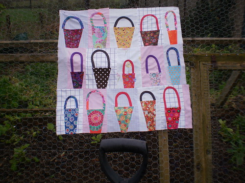 Liberated baskets- from book Liberated Quiltmaking II by Gwen Marston