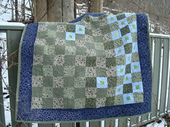 Completed quilt - also the front