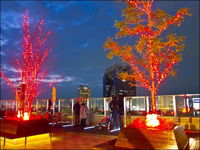 Decoracion Terrazas Navidad ~ Decoraciones navide?as en las terrazas de JR Osaka (Umeda)  Flickr