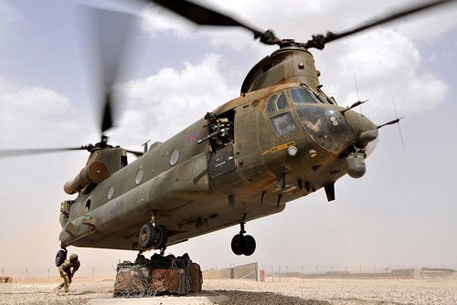6642214727 db30eb8a9b Chinook Helicopter Picks Up Supplies
