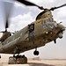 Chinook Helicopter Picks Up Supplies to Deliver to Frontline Soldiers in Afghanistan