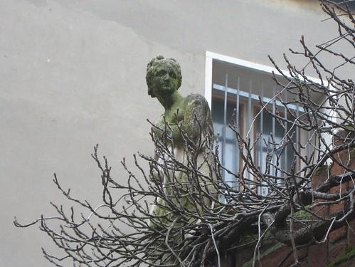 garden wall in Venice