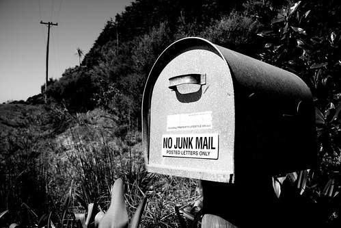 Message to the mail man | by gajman