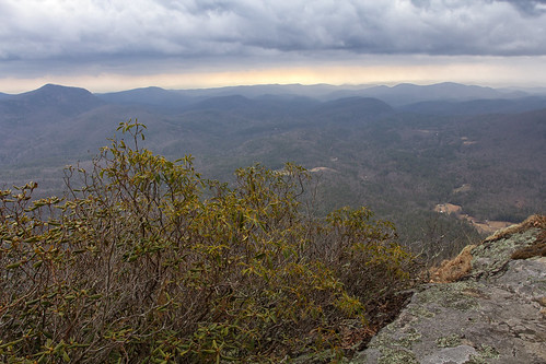 Whiteside Mountain overlook