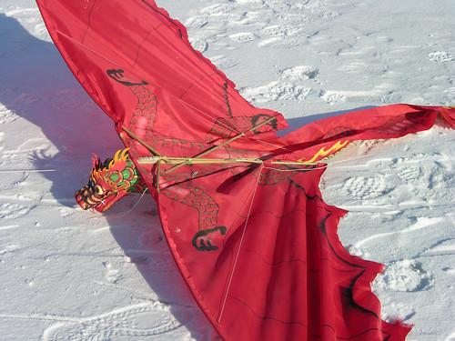 This dragon kite
