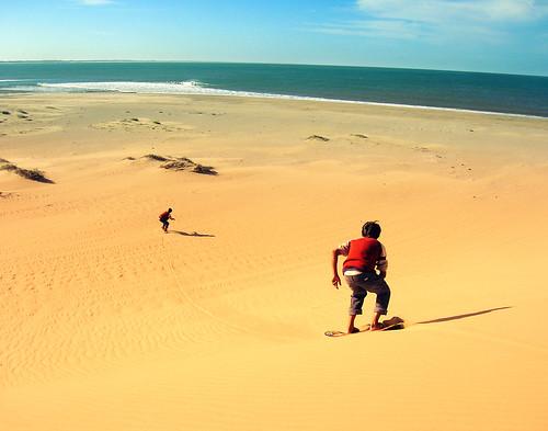 uruguay dunas sandboard valizas