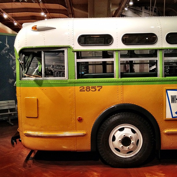 The bus that Rosa Parks sat in #FordNAIAS