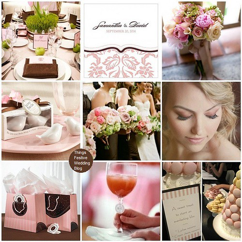 Pink And Brown Wedding Ideas: Pink And Brown Wedding Theme