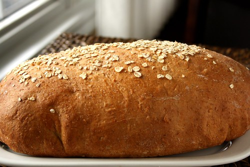 My New-Fashioned Breadmaker Vegan Oatmeal Loaf