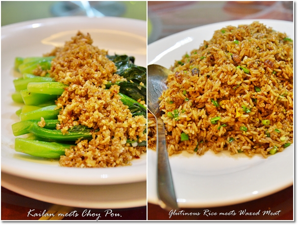 Vegetable & Glutinous Rice