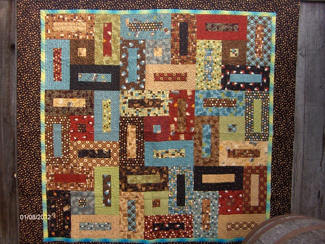 Keyholes Jelly Roll Quilt Flickr Photo Sharing