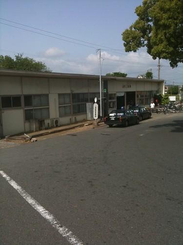 JR二島駅をスタート