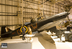 N1671 - Royal Air Force - Boulton-Paul Defiant I - 080203 - RAF Museum Hendon - Steven Gray - IMG_7399
