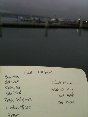 Morning Notes from Coal Harbour