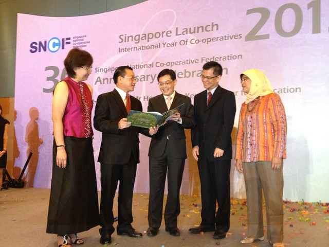 Singapore launch International Year of Co-operatives