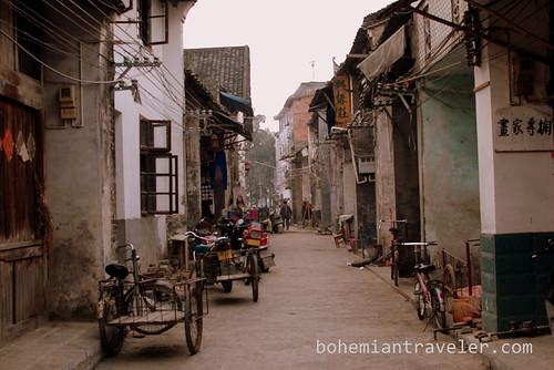 backstreets of Xingping