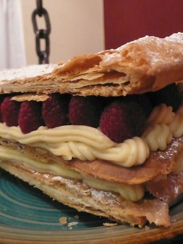 Christmas Dessert: Raspberry Napoleon