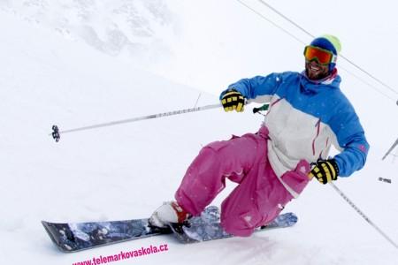 Telemark festival v Peci pod Sněžkou
