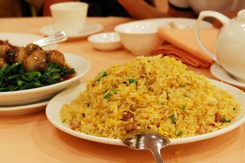 yangzhou fried rice @ yung kee