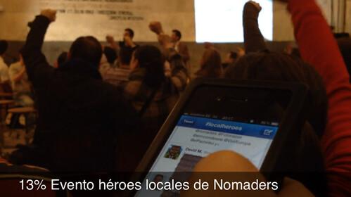 13% Evento héroes locales de Nomaders