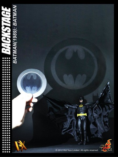 Hot Toys 1/6th Batman (1989 ver.) teaser