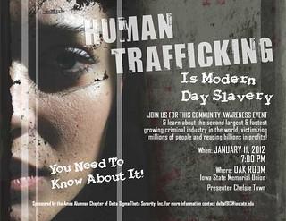 Human Trafficking Flyer