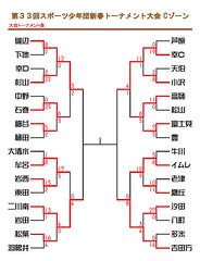 201201_第33回スポーツ少年団新春トーナメント大会Cゾーントーナメント表(0115時点)
