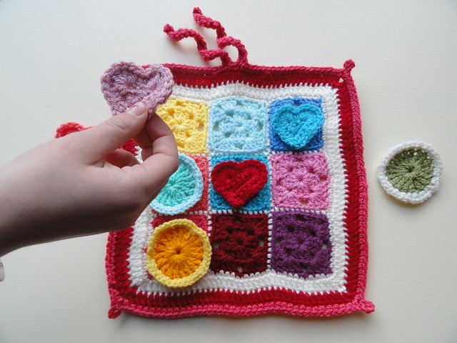 Crocheting Games : gehaakt spel, crochet game Flickr - Photo Sharing!