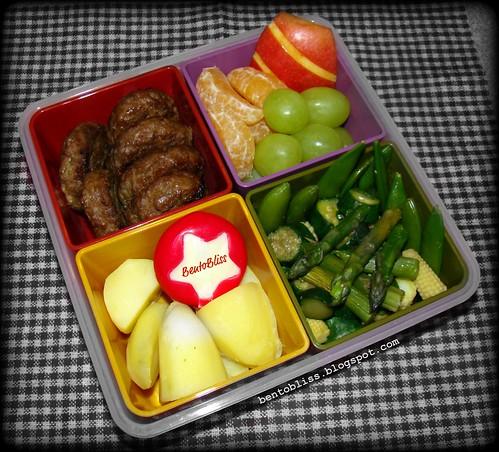 Mini Burger Bento
