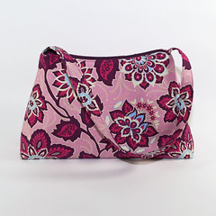 Zippered Top Pink Bag