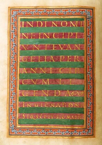 009-Gero-Codex  Evangelistar Hs 1948- Universitäts- und Landesbibliothek Darmstadt