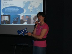 Project AWARE Presentation at the PADI Member Social