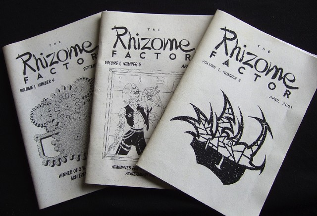 Rhizome factor, issues 4 - 6