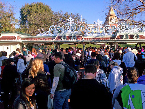 Disneyland: crowd 1